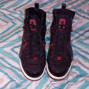 Jordan's sneakers